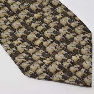 The Nature Conservancy Elephants Silk Neck Tie